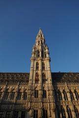 Belfried des Rathauses, Brüssel, Belgien