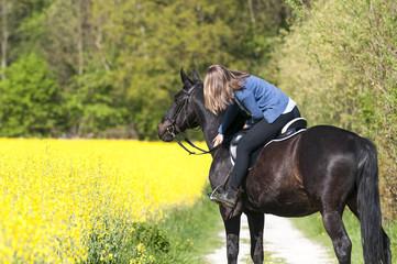 Pause fürs Pferd