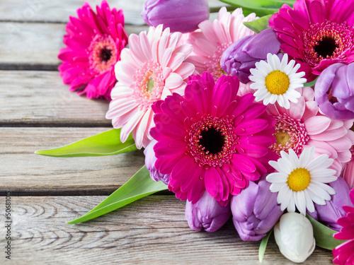 Leinwanddruck Bild Blumen - Dekoration