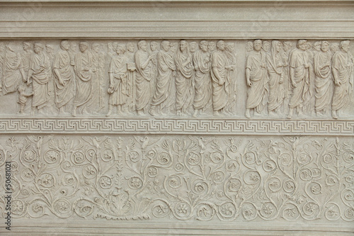 Rome - Ara Pacis, Altar of Augustan Peace - 50681021