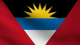 Antigua and Barbuda flag.