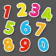 Set of color numbers