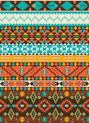 Seamless navajo geometric pattern