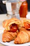 cornetti alla confettura di albicocche - apricot jam croissants
