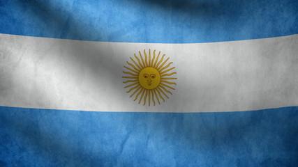 Argentine flag.