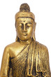 portrait of buddha figure