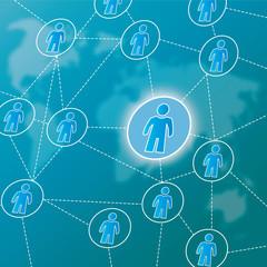 Social network, virales marketing, global