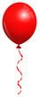 Single Red Balloon