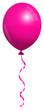 Single Pink Balloon