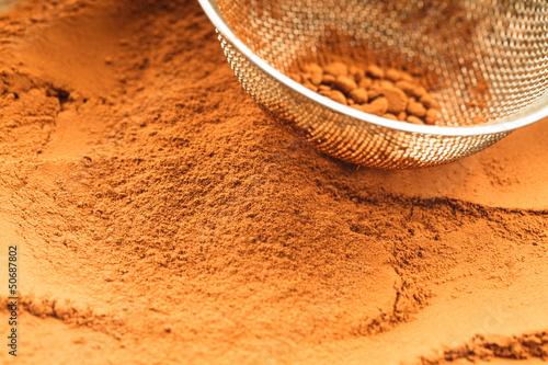 czekolada w proszku