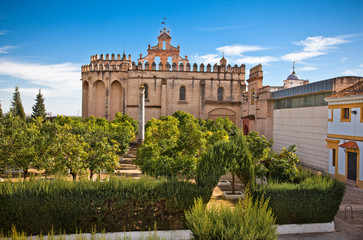 Monasterio San Isidoro del Campo in Santiponce, Spain.