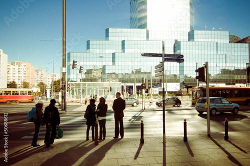Warszawa w ciągu dnia