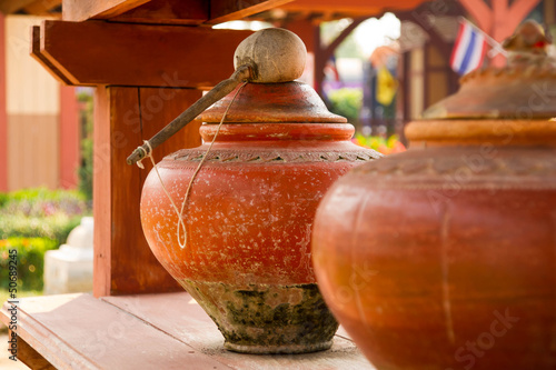 Thai water pot