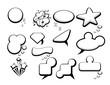 bubble speech icons
