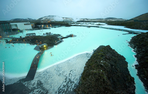 Plexiglas Antarctica 2 The Blue Lagoon resort
