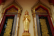 The stand gold buddha