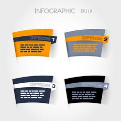 orange and blue arc options