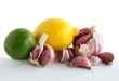 citrus fruits and garlic as natural medicine