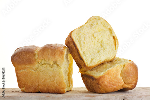 Brioche en portions