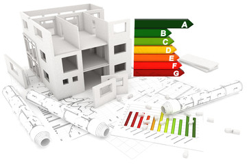 Rohbau und Pläne, Energieeffizienz Klasse A