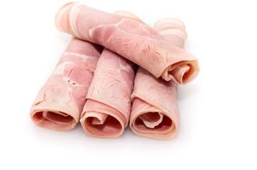 Ham slices.