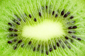 Background kiwi closeup