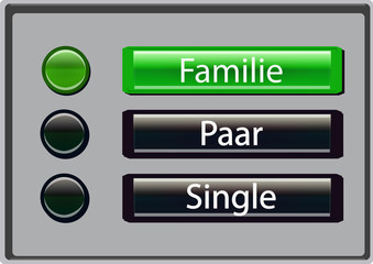 Familie Paar Single (Klingelschild)