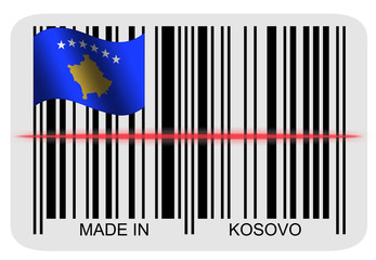 Barcodelabel - Made in Kosovo