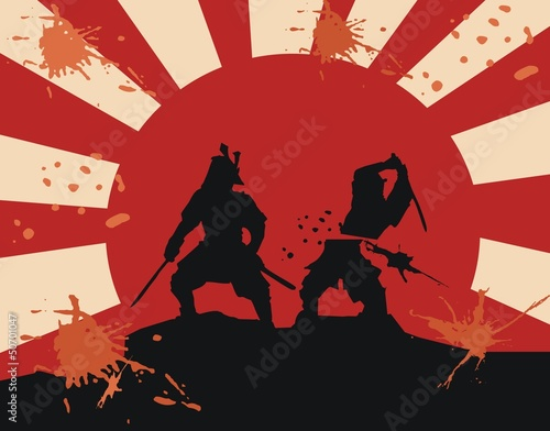 samurai - blood - fight (epic martial art) - 50701047