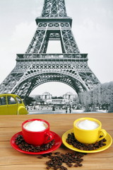 Caffè macchiato con schiuma di latte