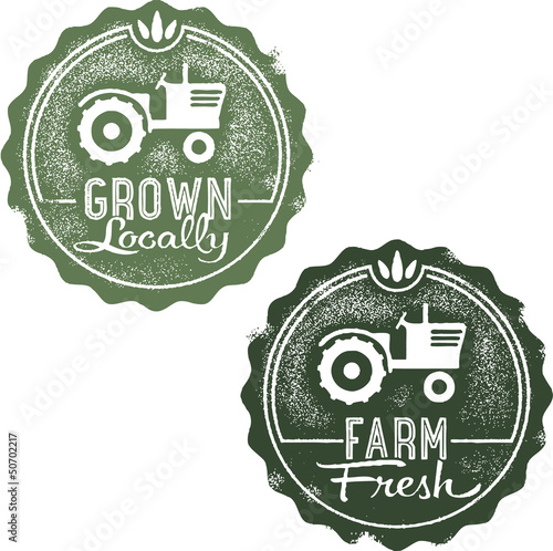 Local Farm Fresh Stamps
