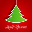Christmas Tree Vector Background | EPS10 Illustration