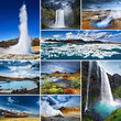 canvas print picture - Beautiful Iceland