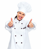 Chef woman.