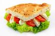 Pide with tomatoes and mozzarella – Pide Tomate-Mozzarella