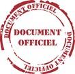 tampon document officiel