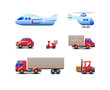 Transport Delivery Web Icon Set Version 2
