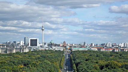 Day view of the central district of Berlin
