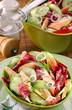 salade concombre et saumon 2