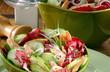 salade concombre et saumon 4