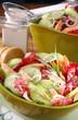 salade concombre et saumon 3