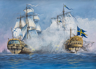 Battle of Sailing Ships