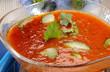 soupe froide de tomates