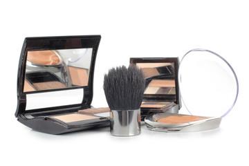 Cosmetics eye shadow brush