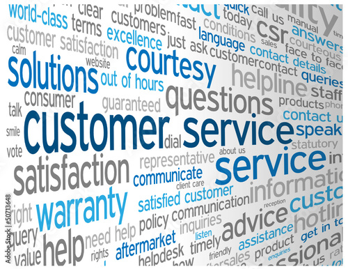 """CUSTOMER SERVICE"" Tag Cloud (contact us details help hotline)"