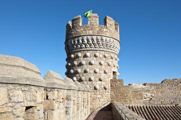 New Castle of Manzanares el Real, Madrid Province, Spain