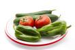 Paprika mit Tomaten