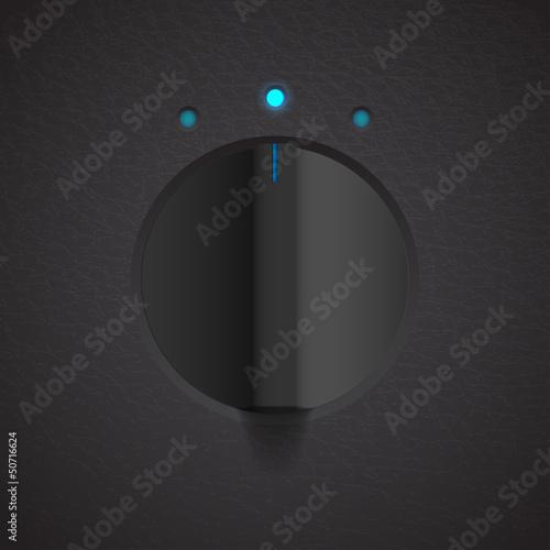 volume settings, sound control knob