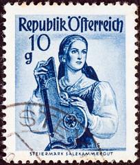 Woman from Steiermark Salzkammergut (Austria 1948)