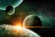 Planet landscape